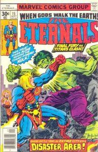The Eternals #15 (1977)