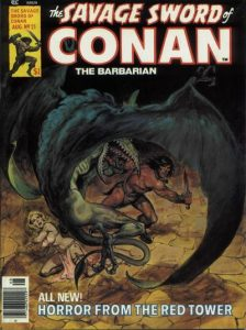 The Savage Sword of Conan #21 (1977)