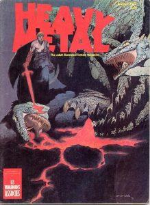 Heavy Metal Magazine #5 (1977)