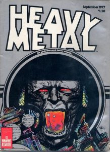 Heavy Metal Magazine #6 (1977)