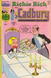 Richie Rich & Cadbury #1 (1977)