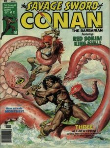 The Savage Sword of Conan #23 (1977)