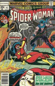 Spider-Woman #4 (1978)