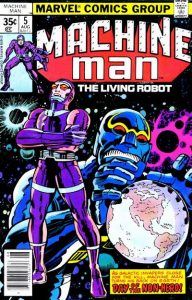 Machine Man #5 (1978)
