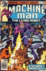 Machine Man #8 (1978)