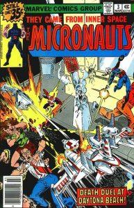 Micronauts #3 (1979)