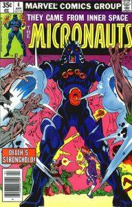 Micronauts #4 (1979)