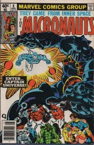 Micronauts #8 (1979)