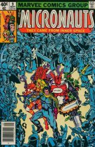 Micronauts #9 (1979)