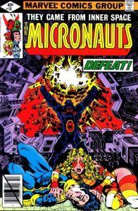 Micronauts #10 (1979)