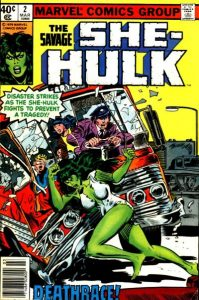 The Savage She-Hulk #2 (1980)