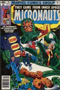 Micronauts #16 (1980)