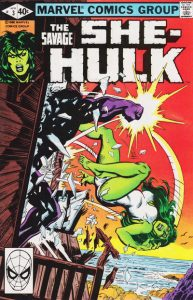 The Savage She-Hulk #3 (1980)