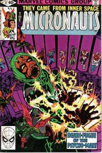Micronauts #17 (1980)