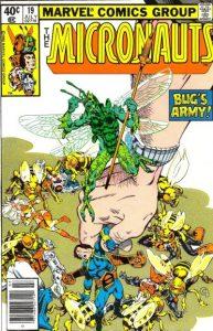 Micronauts #19 (1980)