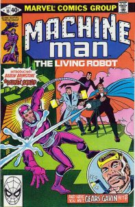 Machine Man #16 (1980)