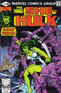 The Savage She-Hulk #7 (1980)
