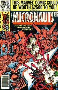 Micronauts #21 (1980)