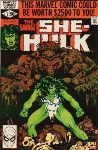 The Savage She-Hulk #8 (1980)