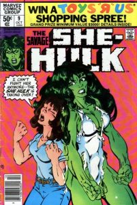 The Savage She-Hulk #9 (1980)