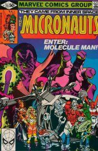 Micronauts #23 (1980)