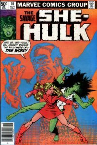 The Savage She-Hulk #10 (1980)