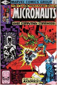 Micronauts #24 (1980)