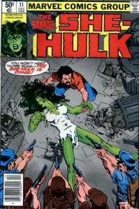 The Savage She-Hulk #11 (1980)