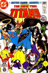 The New Teen Titans #4 (1981)