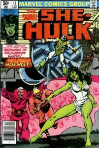 The Savage She-Hulk #13 (1981)