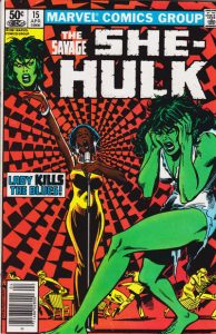 The Savage She-Hulk #15 (1981)