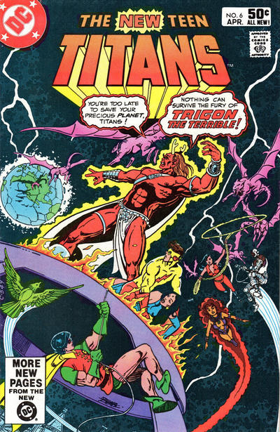 The New Teen Titans #6 (1981)