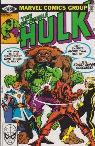 The Incredible Hulk #258 (1981)
