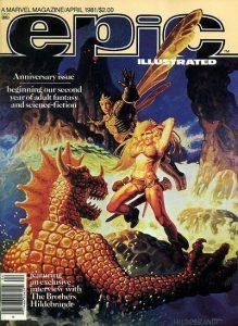 Epic Illustrated #5 (1981)