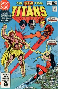 The New Teen Titans #11 (1981)