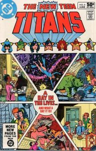 The New Teen Titans #8 (1981)