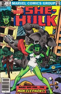 The Savage She-Hulk #17 (1981)