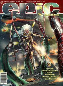 Epic Illustrated #6 (1981)