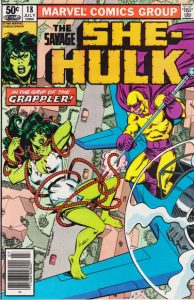 The Savage She-Hulk #18 (1981)