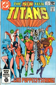 The New Teen Titans #9 (1981)