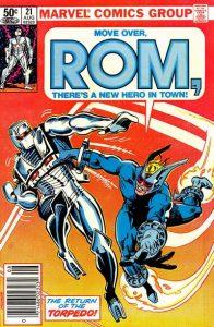ROM #21 (1981)