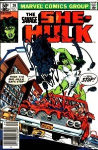 The Savage She-Hulk #20 (1981)