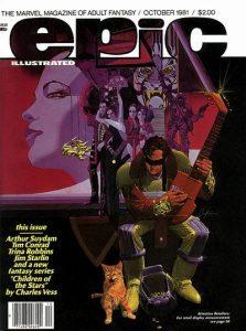 Epic Illustrated #8 (1981)