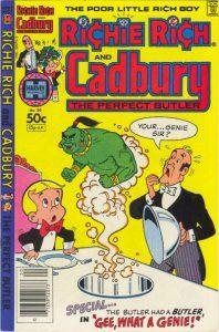 Richie Rich & Cadbury #20 (1981)