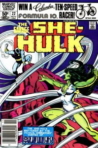 The Savage She-Hulk #22 (1981)
