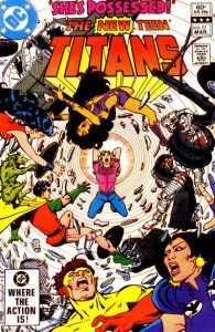 The New Teen Titans #17 (1981)