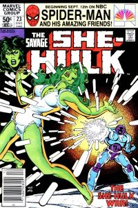 The Savage She-Hulk #23 (1981)