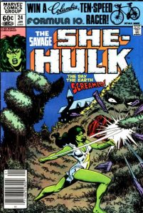 The Savage She-Hulk #24 (1982)
