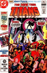 The New Teen Titans #21 (1982)