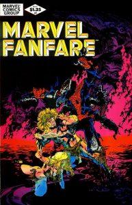 Marvel Fanfare #2 (1982)